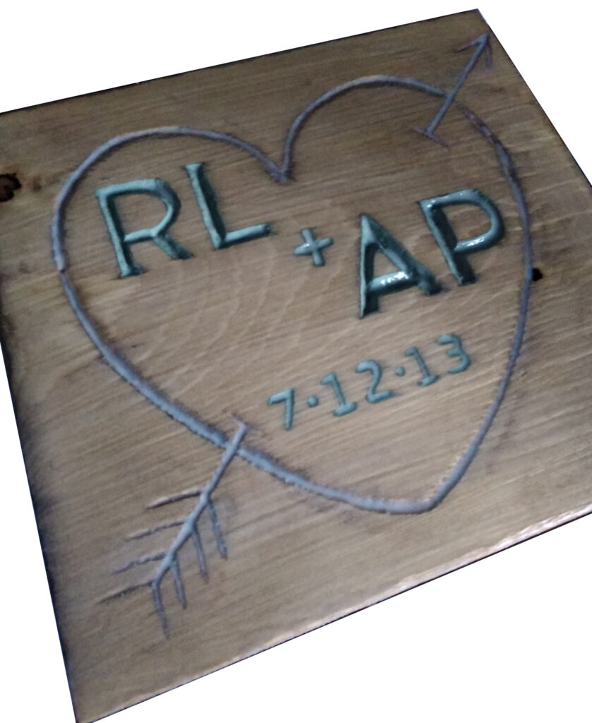 Personalised gifts hand made